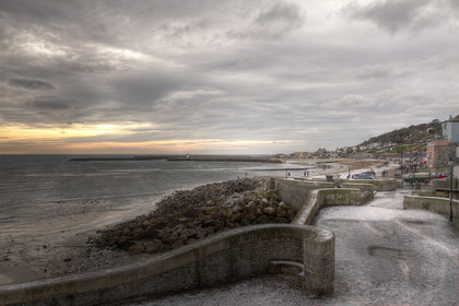 Lyme-Rregis-Winter-View