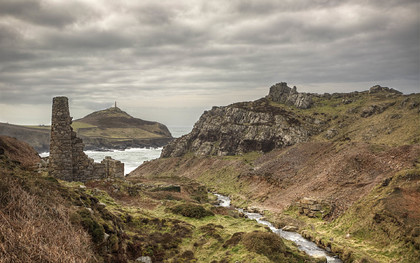 Boswedden Mine and Cape Cornwall